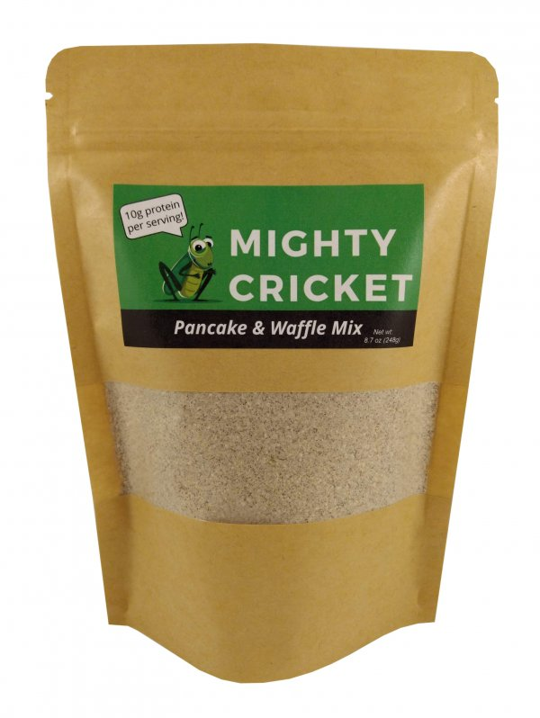 Mighty Cricket Waffle Pancake Mix