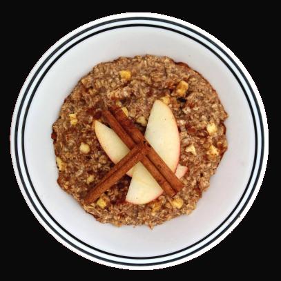 Mighty Cricket Apple Cinnamon Bowl Into Vegan