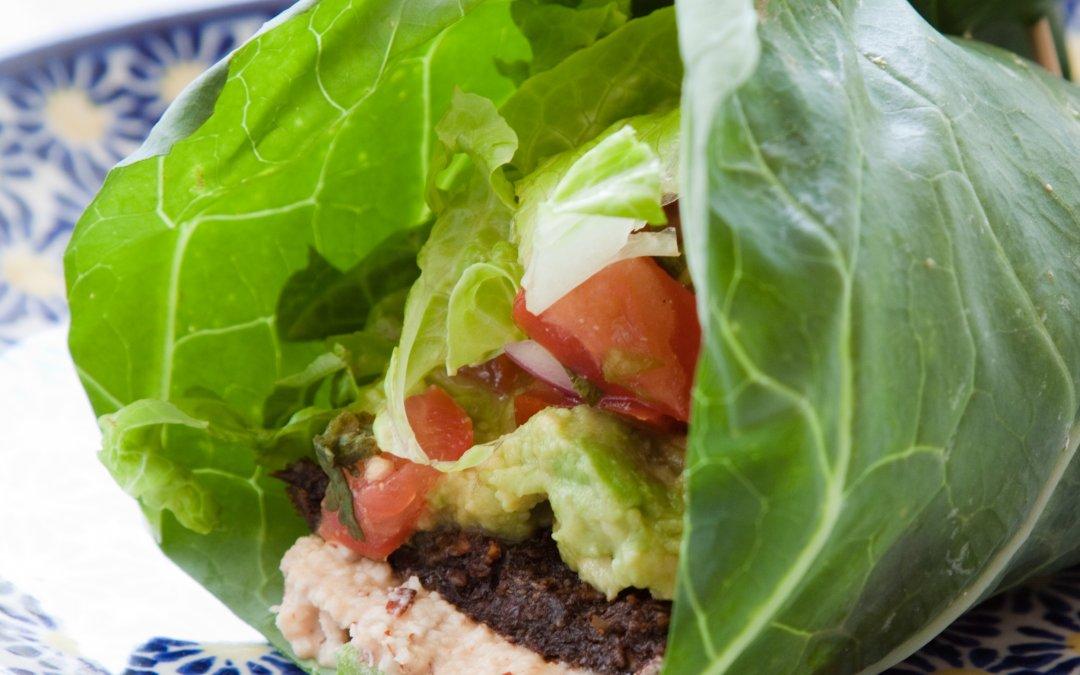Almost Vegan Lettuce Wraps Recipe