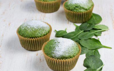 Mighty Green Banana Muffin