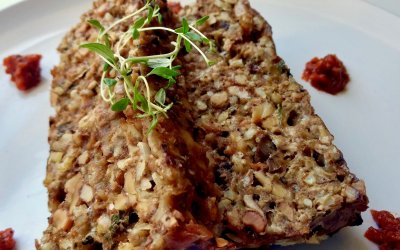 Mighty Mushroom Meatloaf Recipe