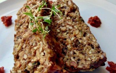 Mighty Mushroom Meatloaf Recipe