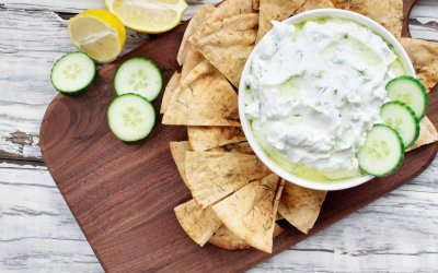 High Protein Tzatziki Recipe