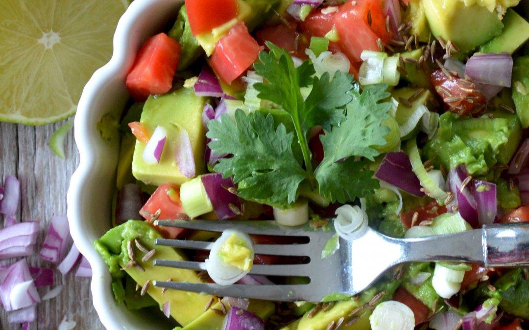 Creative Healthy Guacamole Recipe