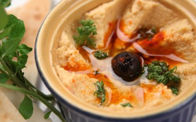 High Protein Hummus Recipe