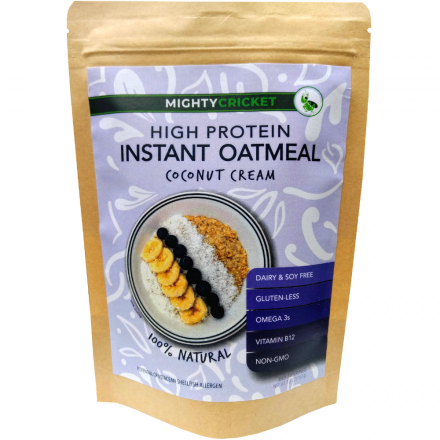 coconut-cream-Protein-Oatmeal-instant-cricket-oatmeal-dairy-free-soy-free-organic-oats