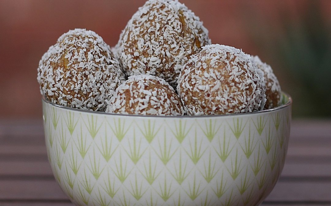 No Bake Hemp Protein Balls