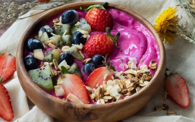 Clean Protein Powder Smoothie Bowl Recipe